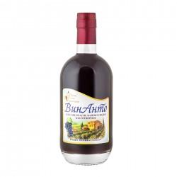 ВинАнто, 500 мл стекло, безалкогольное, Одесское красное полусладкое