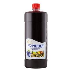 Черника с полифенолами винограда, 1000 мл, питьевой комплекс