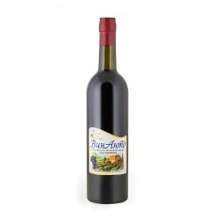"""ВинАнто, 750 мл стекло, безалкогольное, Одесское красное полусладкое ТМ """"Жива Сила Винограду"""""""