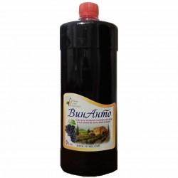 ВинАнто, 1000 мл (1 литр), ПЭТ-бутылка (пластик), безалкогольное, Одесское красное полусладкое